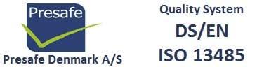 Presafe-og-ISO-13485-2